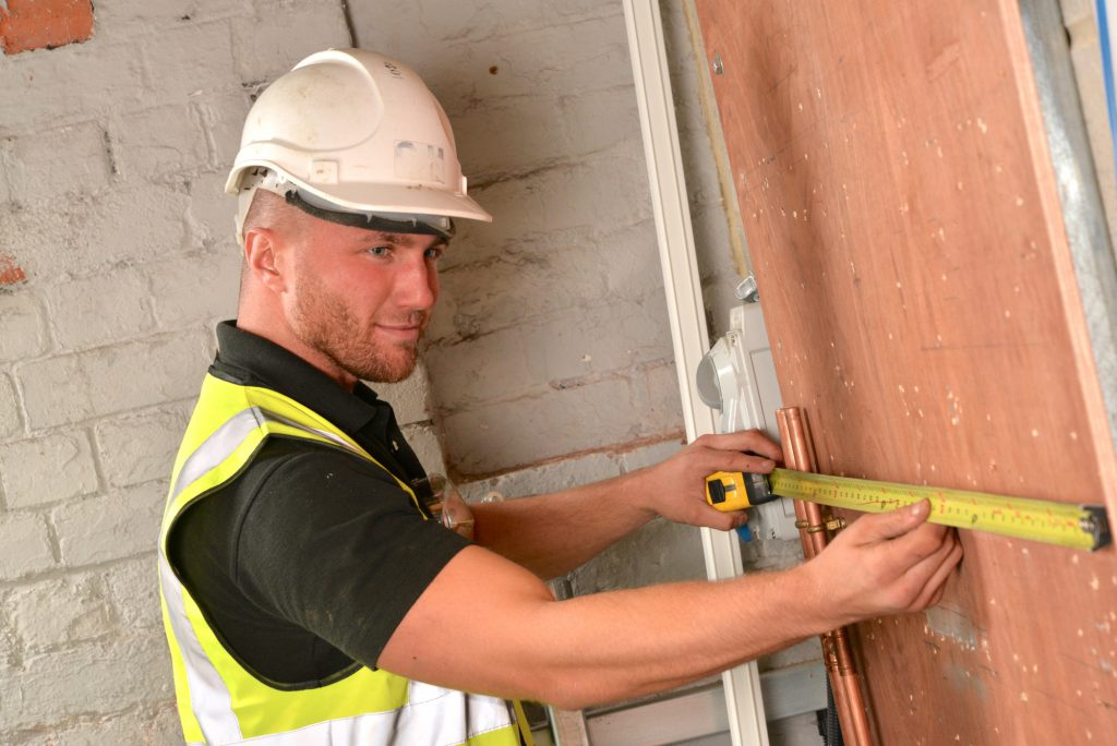 Apprentice measuring up